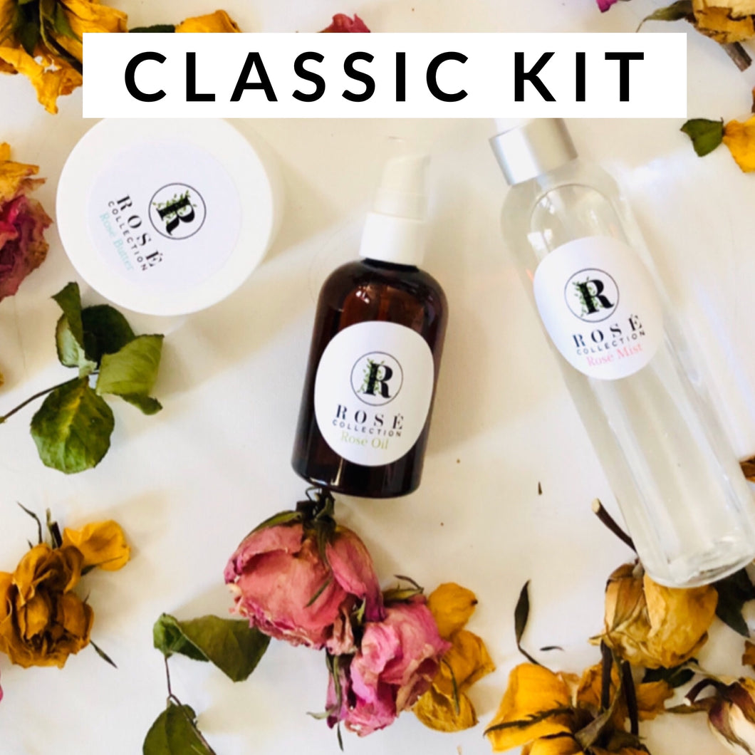 Blowout Culture Classic Kit  Rose' Oil, Rosé Mist, Rosé Butter