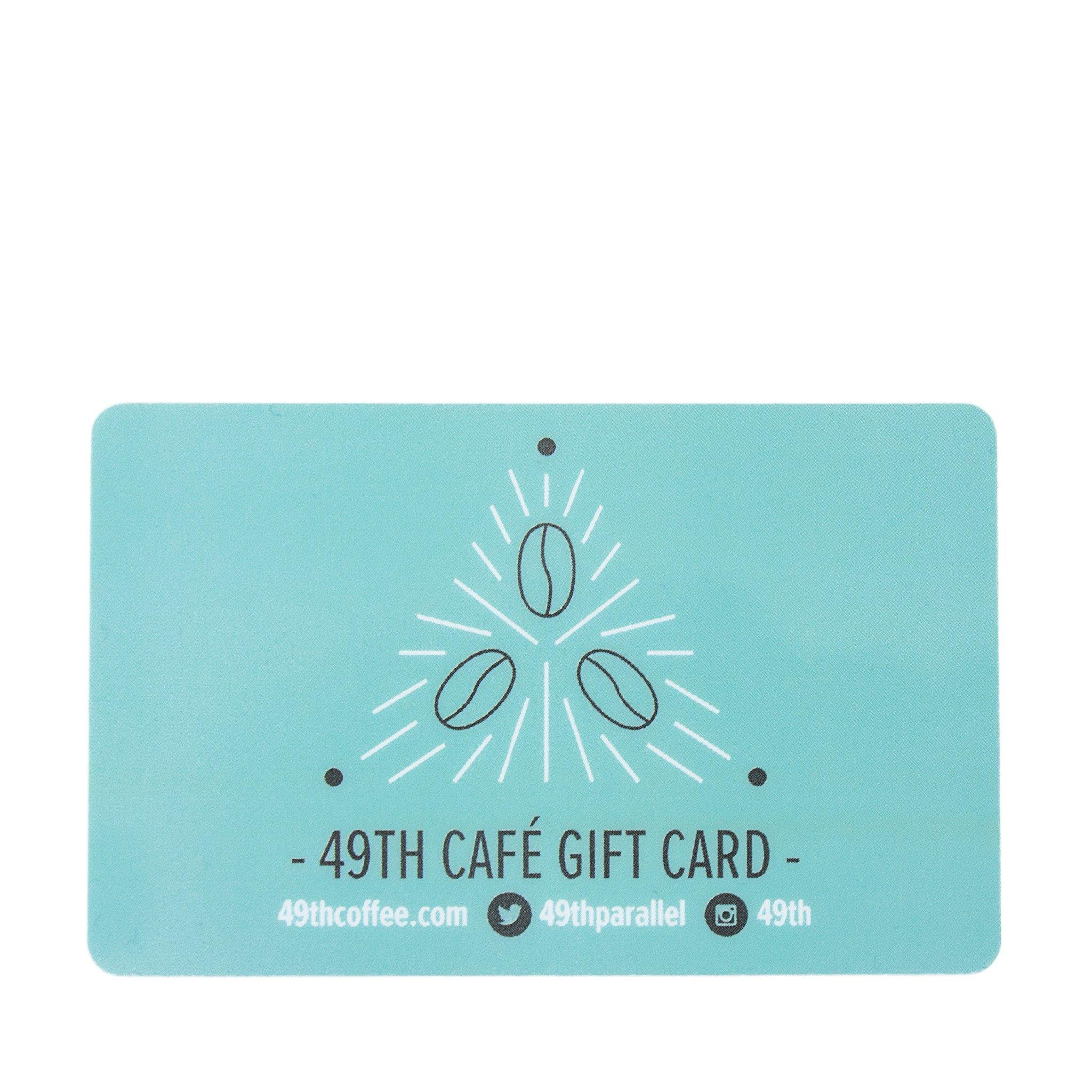 49th Parallel Café Giftcard