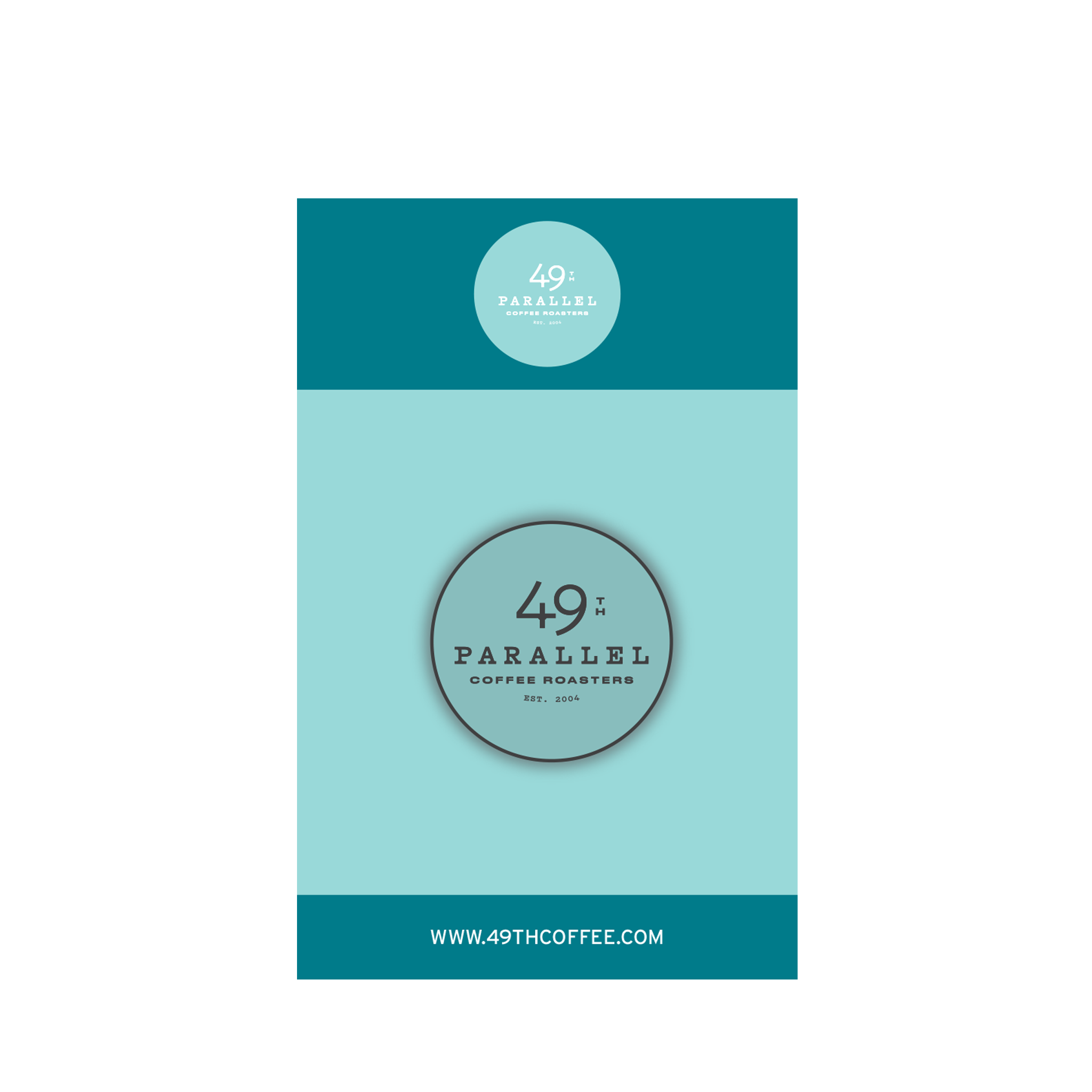 49th Circle Logo Pin