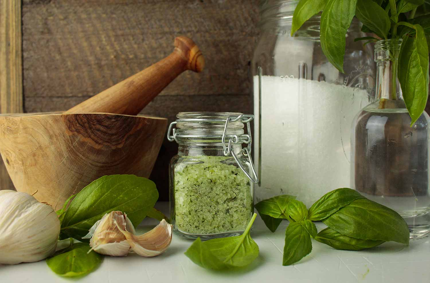 Basil Garlic Salt