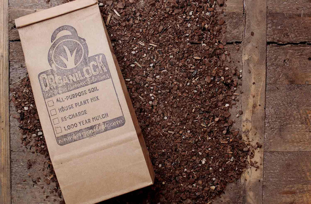 Organilock Houseplant Mix Soil   |   1.5 Gallons