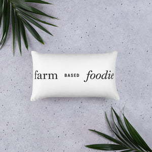 Eatmoreplants |  Farm-Based Foodie Pillow