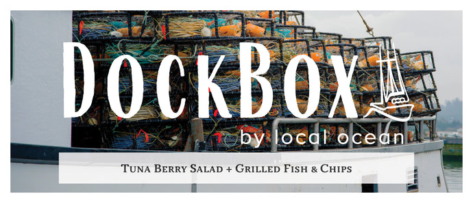Box #17: Tuna Berry Salad & Grilled Fish and Chips