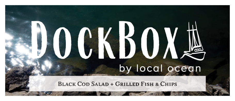Box #26: Black Cod Salad + Fish & Chips
