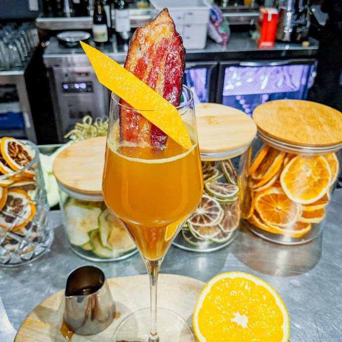 Bacon + Maple Mimosa Drink Kit