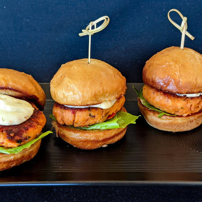 Salmon Sliders Appetizer Kit