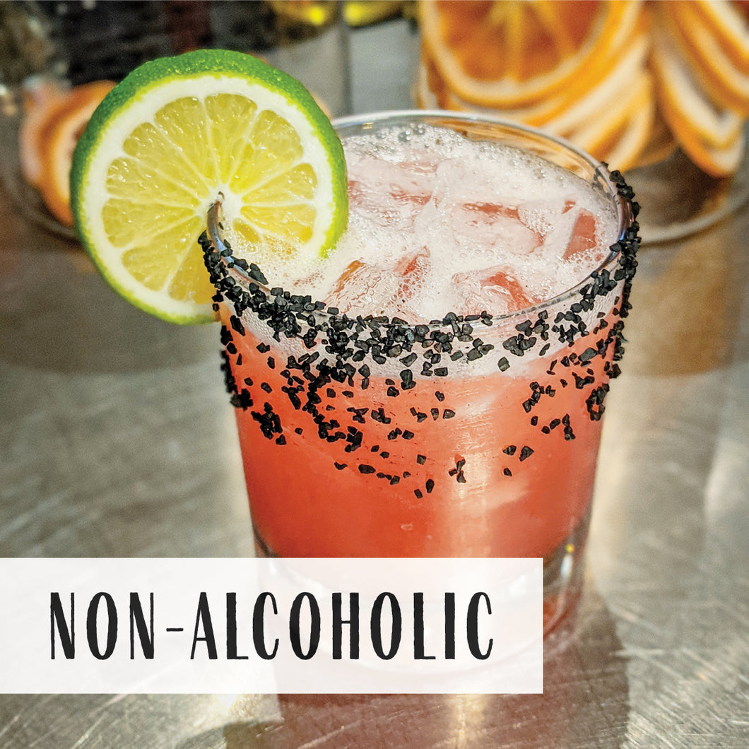 Non-alcoholic Prickly Pear Margarita (2 drinks)