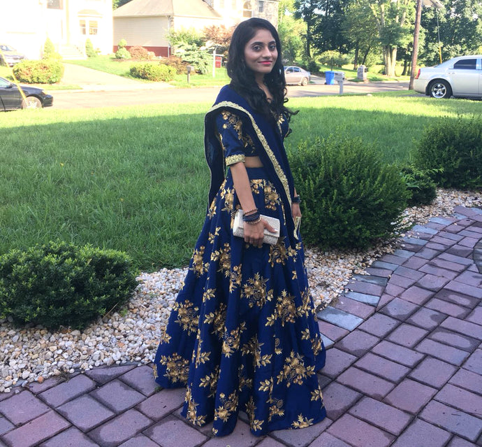 Ishita Patel's Party Wear Lehenga