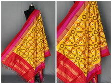Load image into Gallery viewer, Ikat Silk Dupatta - More Colors Available