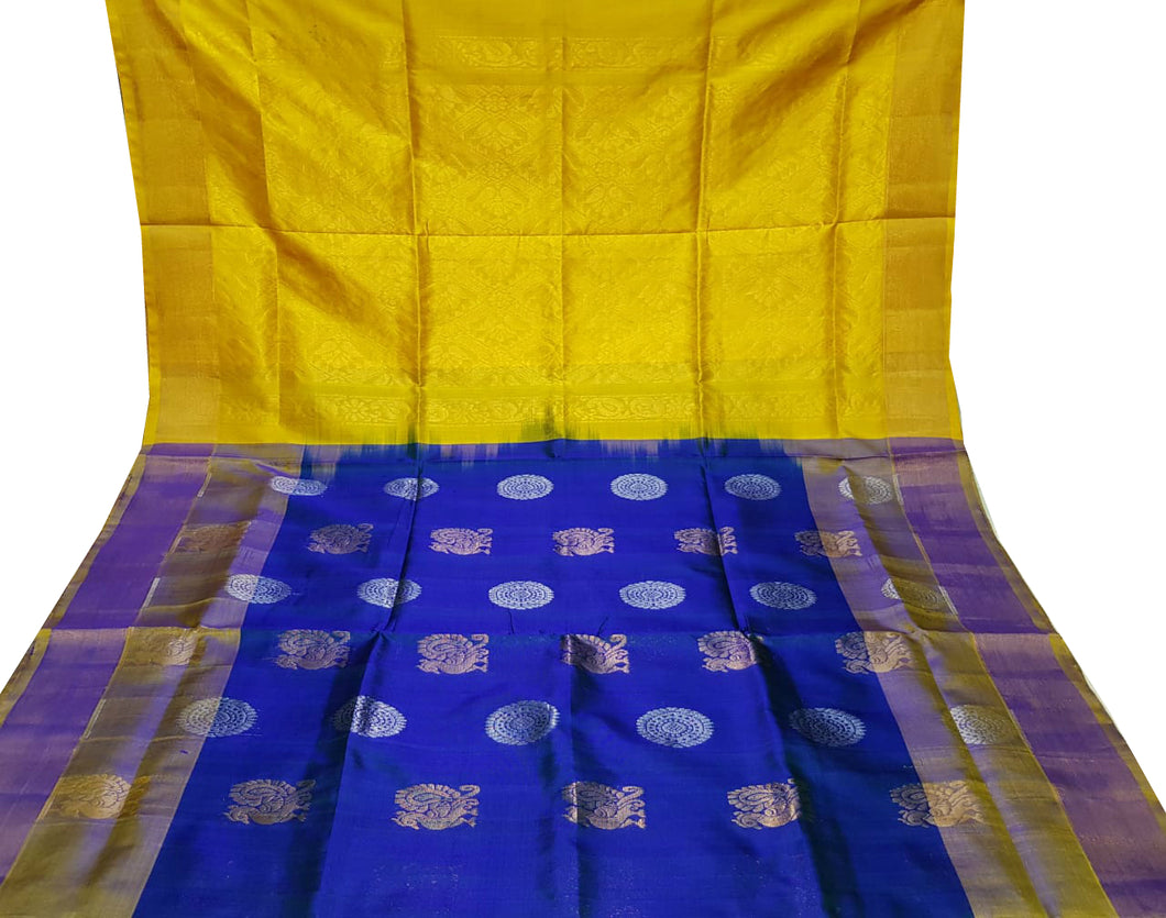 Royal Blue Uppada Silk Saree