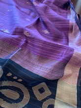 Load image into Gallery viewer, Violet Matka Silk Saree