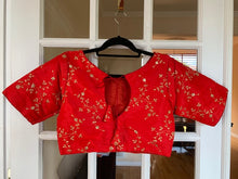 Load image into Gallery viewer, Solid Colored Embroidered Blouse