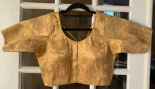 Load image into Gallery viewer, Floral Gold Blouse