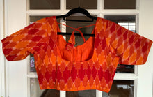 Load image into Gallery viewer, Multicolor Ikat Cotton Blouse