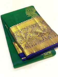 Green Kanchipuram Silk Saree