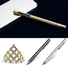 Load image into Gallery viewer, Creative Modular Polar Pen Magnetic Magnets Ball Touch Pen With 12 Steel Balls