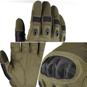 Touch Screen Army Military Tactical Gloves Paintball Airsoft Shooting Combat Anti-Skid Bicycle Hard Knuckle Full Finger Gloves
