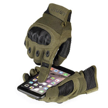 Load image into Gallery viewer, Touch Screen Army Military Tactical Gloves Paintball Airsoft Shooting Combat Anti-Skid Bicycle Hard Knuckle Full Finger Gloves