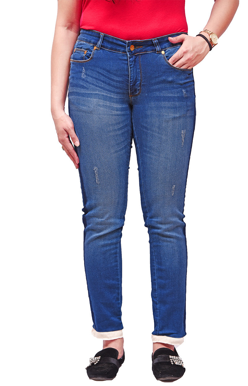 1810 High Rise Skinny Cropped Women's Jeans
