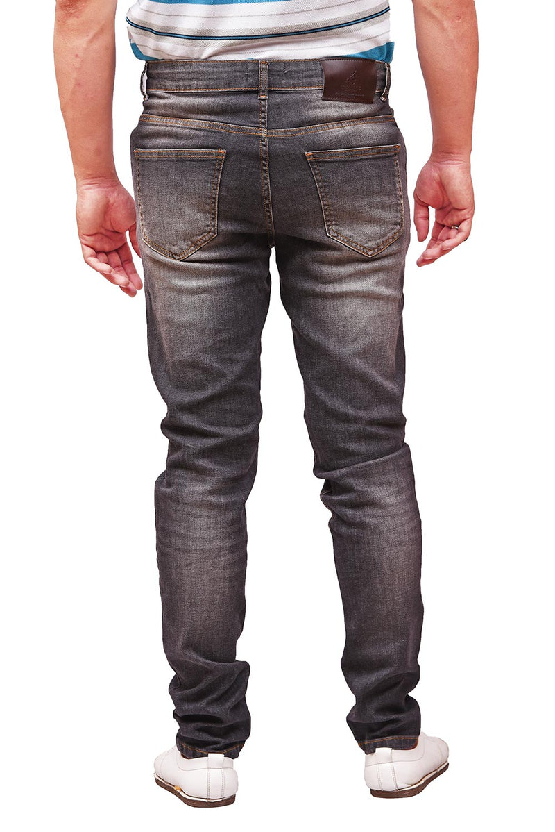 1821 Stretchable Slim Straight Designer Jeans