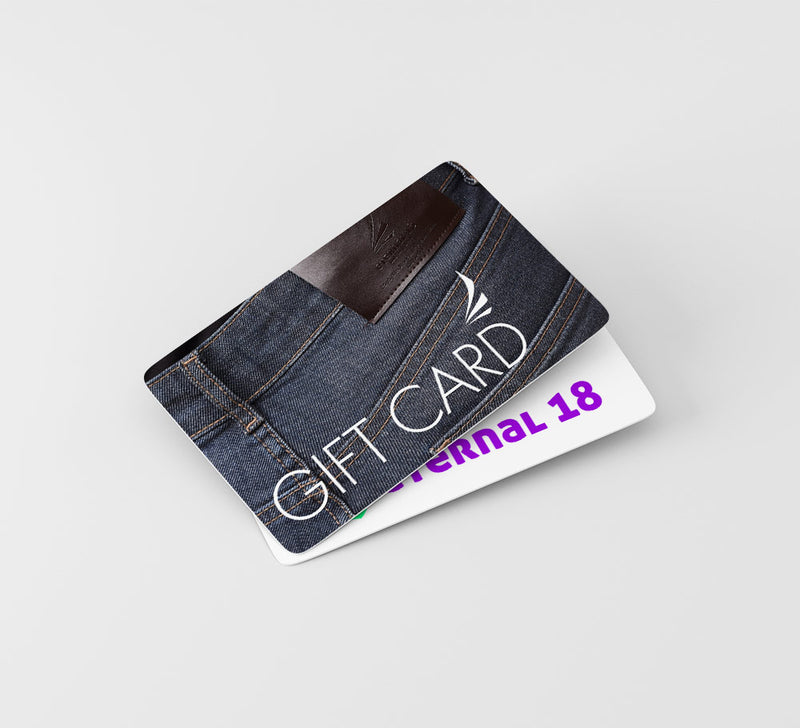 Gift Cards available at Eternal 18!