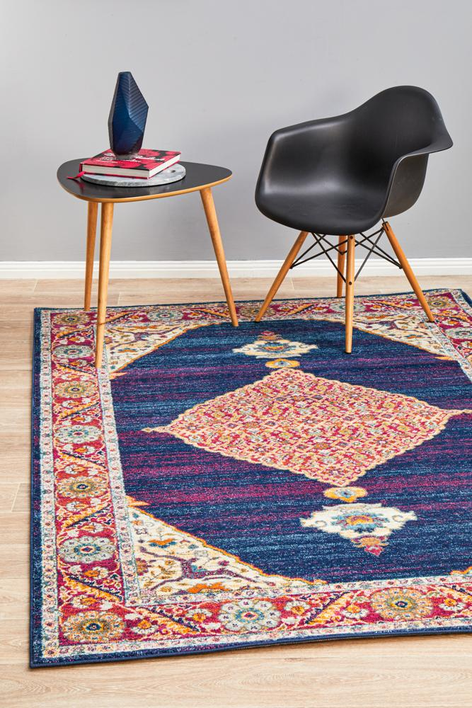 Century 966 Royal Blue Rug