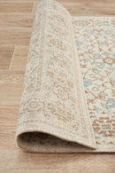 Eternal Whisper Washed Bone Runner Rug