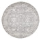 Evoke Pidgeon Grey Transitional Round Rug