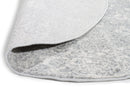 Evoke Shine Silver Transitional Round Rug