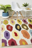 Gemini Modern 500 Multi Coloured Rug - Block & Crate