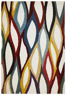Gemini Modern 501 Multi Coloured Rug - Block & Crate