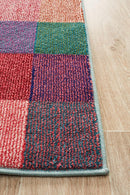 Gemini Modern 511 Multi Coloured Rug - Block & Crate