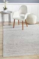 Harvest 801 Silver Rug - Block & Crate