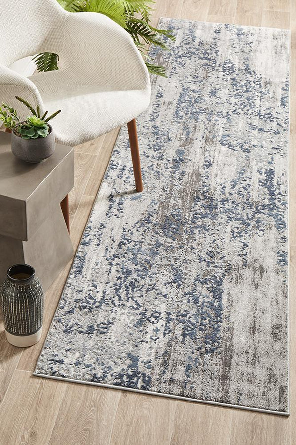 Kendra Casper Distressed Modern Runner Rug - Block & Crate