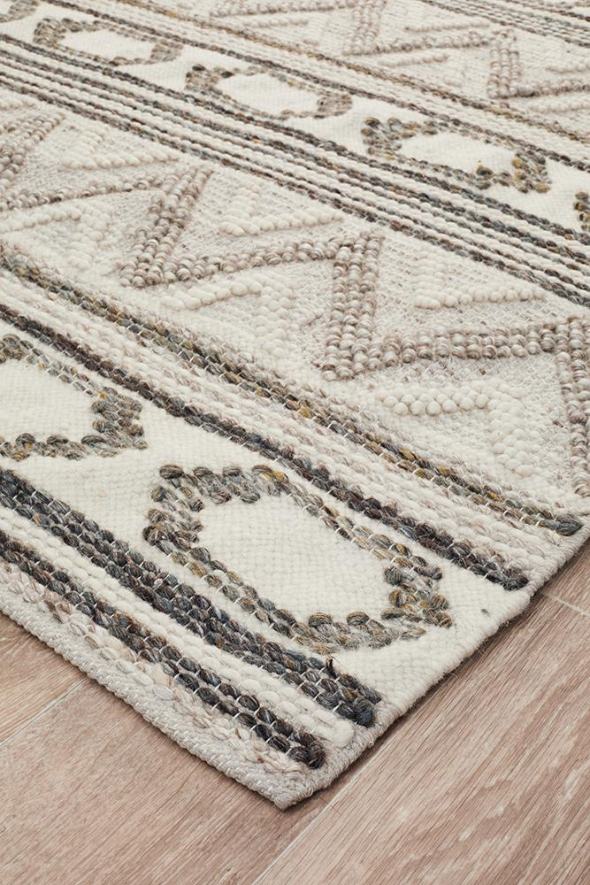 Miller Rhythm Tap Stone Rug - Block & Crate
