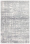 Mirage Ashley Abstract Modern Silver Grey Rug - Block & Crate
