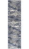 Mirage Casandra Dunescape Modern Blue Grey Runner Rug - Block & Crate