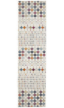Mirage Peggy Tribal Morrocan Style Multi Runner Rug - Block & Crate