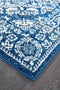 Mirage Gwyneth Stunning Transitional Navy Runner Rug - Block & Crate