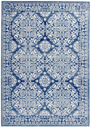 Mirage Gwyneth Stunning Transitional Navy Rug - Block & Crate