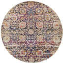 Mirage Zolan Transitional Multi Round Rug - Block & Crate