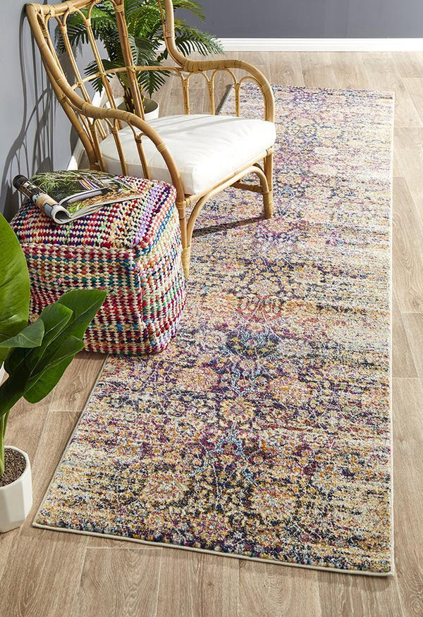 Mirage Zolan Transitional Multi Runner Rug - Block & Crate