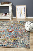 Museum Huxley Multi Coloured Rug - Block & Crate