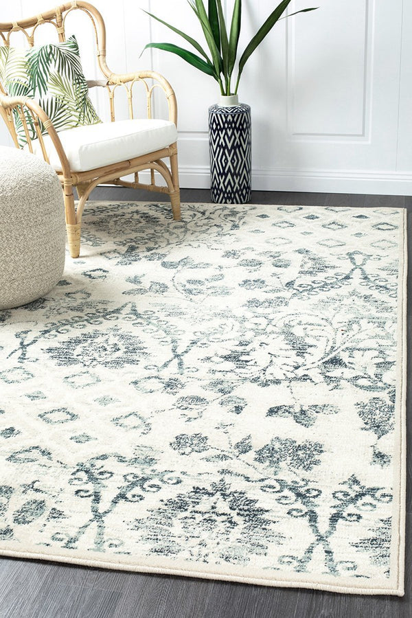 Oxford Mayfair Illusion Blue Rug