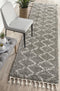 Saffron 11 Grey Runner Rug - Block & Crate