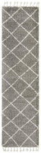Saffron 22 Grey Runner Rug - Block & Crate