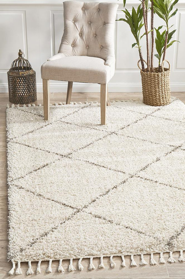 Saffron 22 Natural Rug - Block & Crate