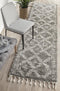 Saffron 33 Grey Runner Rug - Block & Crate