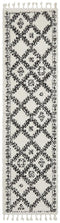 Saffron 33 White Runner Rug - Block & Crate