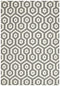 Skandinavian 301  Grey Rug - Block & Crate